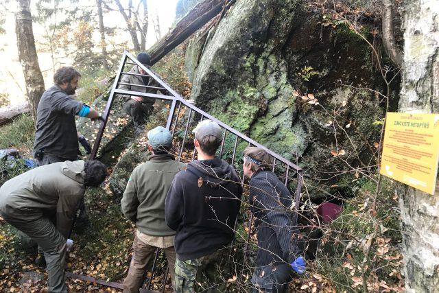 Letos v Národním parku Českém Švýcarsku uzavřeli dvě jeskyně
