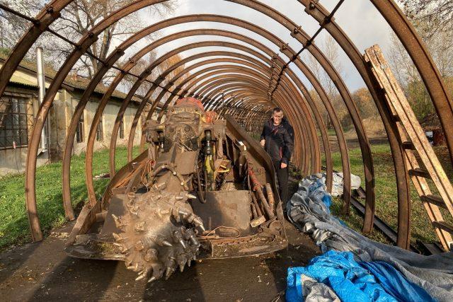 Podkrušnohorské technické muzeum v Kopistech u Mostu chystá novou 300 metrů dlouhou expozici
