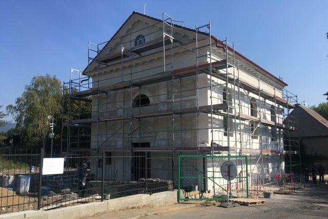 Oprava synagogy v Jirkově je těsně před dokončením