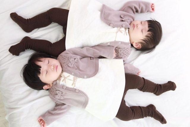 Spící dvojčátka