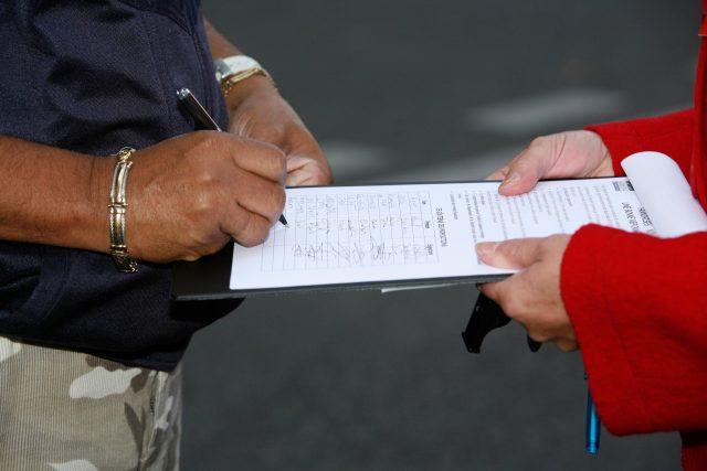 Podpis petice (Ilustrační foto)