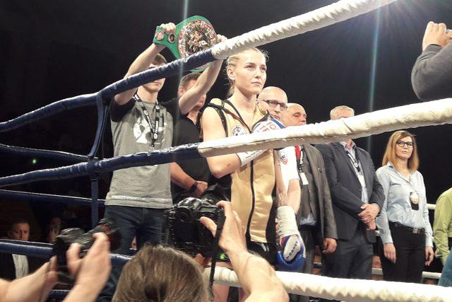 Pás světové šampionky zůstal Fabianě Bytyqi doma