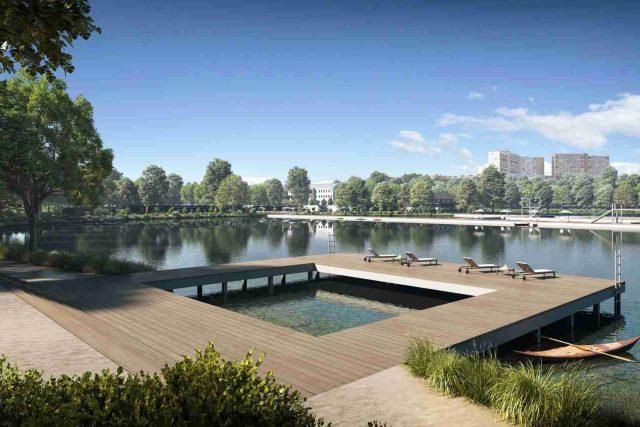 Kamencové jezero, vizualizace budoucí podoby