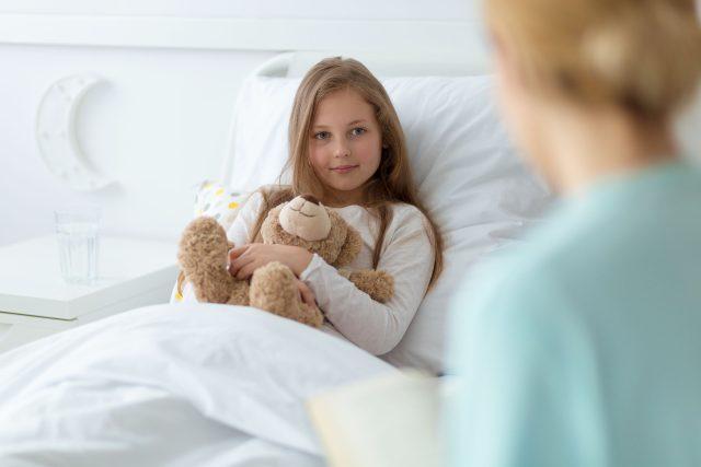 Dětský pacient  (ilustrační foto) | foto: Fotobanka Profimedia