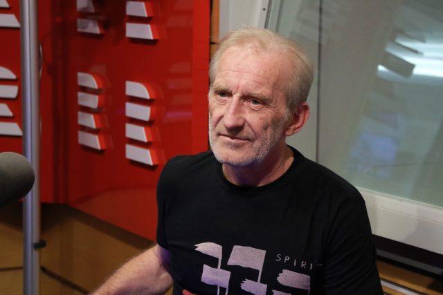 Frontman skupiny Čechomor František Černý | foto: Kristýna Hladíková,  Český rozhlas