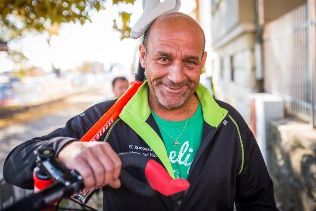 Technik cyklistické Kooperativy Michalov Hengal měl těžký úraz | foto: archiv Michala Hengala