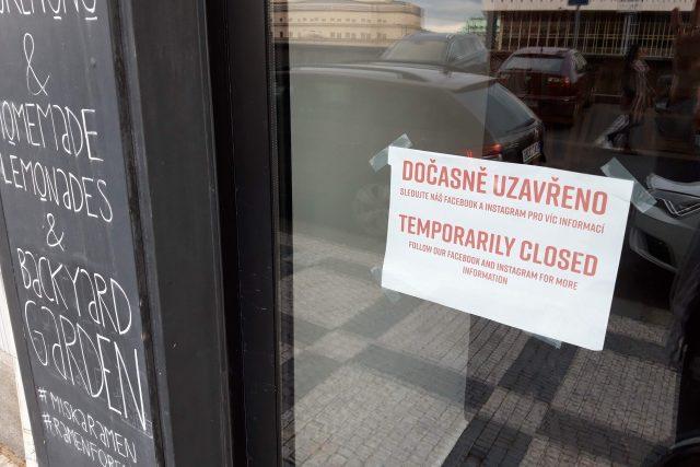 Restaurace jsou letos už podruhé dočasně uzavřené. Až čtvrtina provozovatelů zvažuje konec podnikání