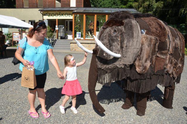 Pravěká zoo v Děčíně