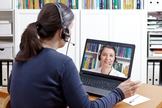 Online konzultace s psychologem | foto: Profimedia