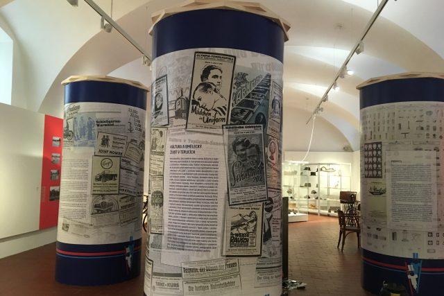 Výstava v muzeu ukazuje prvorepublikový život v Teplicích