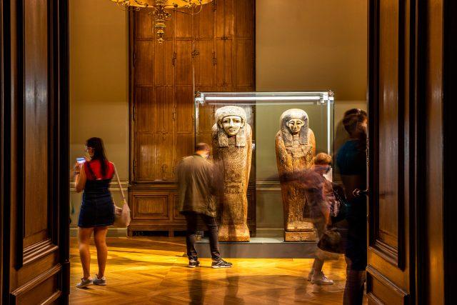Expozice Sluneční králové v Národním muzeu