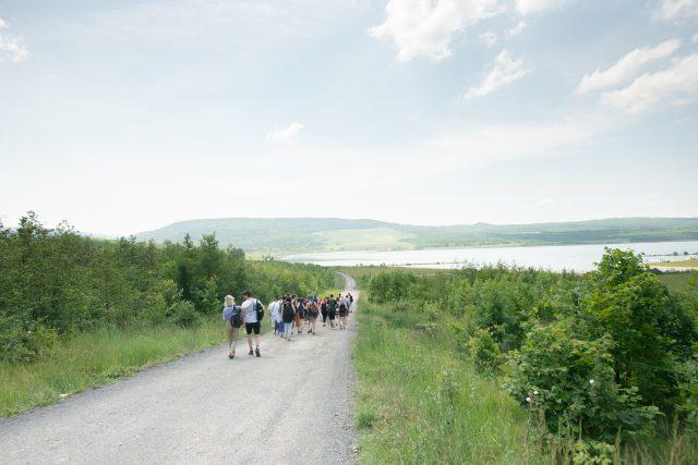 Výlet na jezero Milada jako součást doprovodného programu výstavy Poslední den stvoření   foto: Tomáš Lumpe