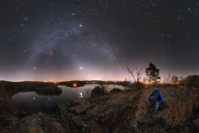 Ty nejlepší vesmírné fotografie vznikají podle Petra Horálka na Seči | foto: Petr Horálek