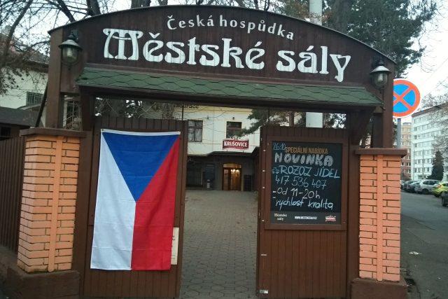 Česká hospůdka Městské sady v Teplicích | foto: Jana Vitásková,  Český rozhlas