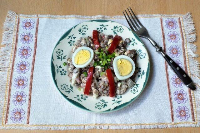 Čočkový salát