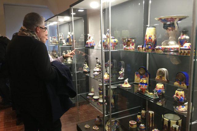 Unikátní sbírka keramiky značky Graniton Jiřího Hořavy v Teplicích