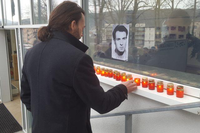 Studenti ústecké univerzity si připomněli 50 let od smrti Jana Palacha