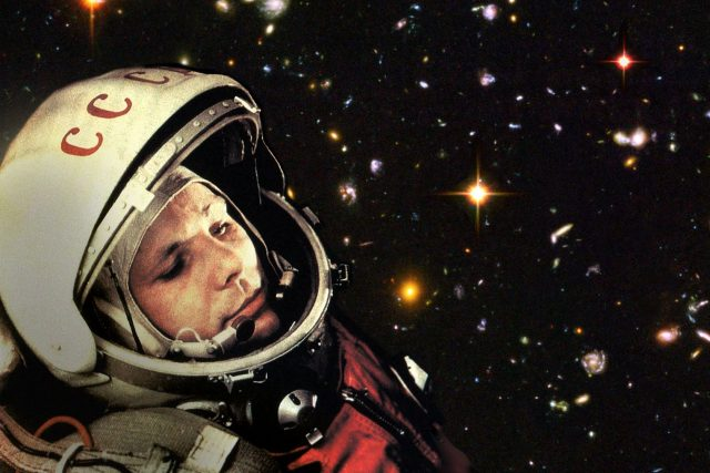První kosmonaut Jurij Gagarin | foto: Robert Couse-Baker,  Fotobanka PxHere  (CC0 Public Domain)