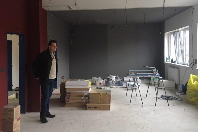 V Krásné Lípě finišují stavební práce na nízkoprahovém centru pro mládež