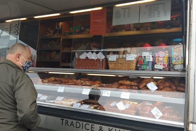 S pojízdnou prodejnou vyjela na Teplicko pekárna z Dubí