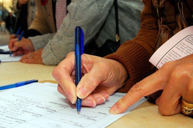 Podpis petice