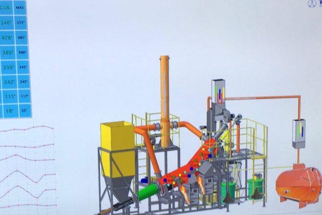 Společnost ECO LOG představila v Kopistech zařízení na likvidaci komunálního opadu, plastů i pneumatik