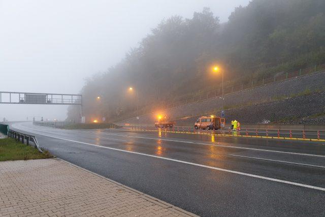 Bezpečnostní zkoušky tunelů Panenská a Libouchec uzavřely drážďanskou dálnici D8