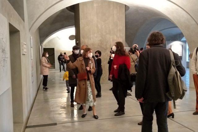 Galerie Benedikta Rejta v Lounech má zase otevřeno | foto: Jana Vitásková,  Český rozhlas