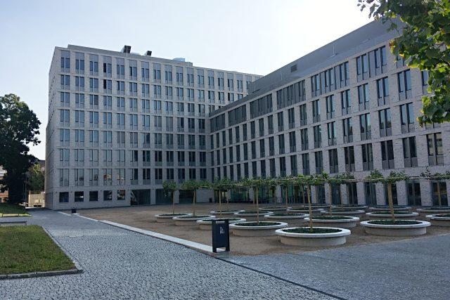 Centrum přírodovědných a technických oborů v kampusu univerzity v Ústí nad Labem