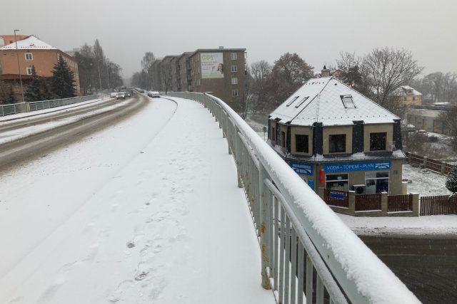 Most přes Mezibořskou ulici v Litvínově půjde brzy k zemi