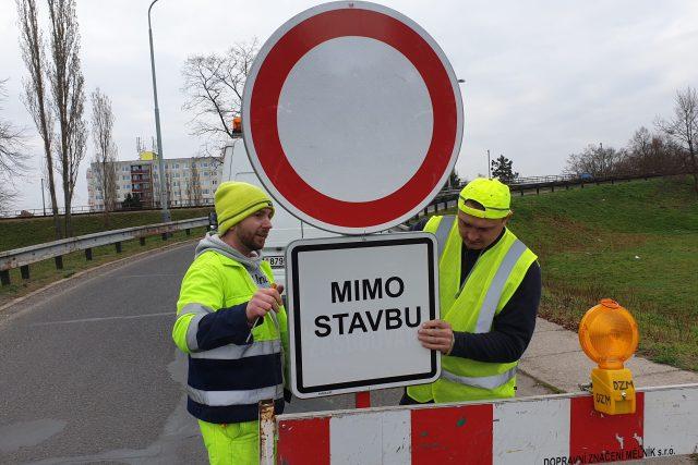 Oprava mostu přes Labe ve Štětí začala