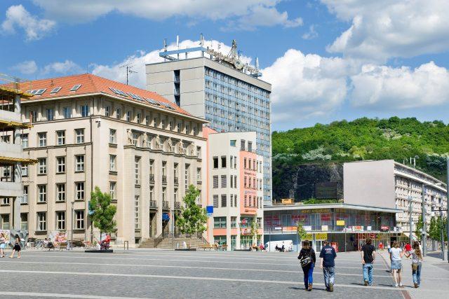 Ústí nad Labem, Mírové náměstí