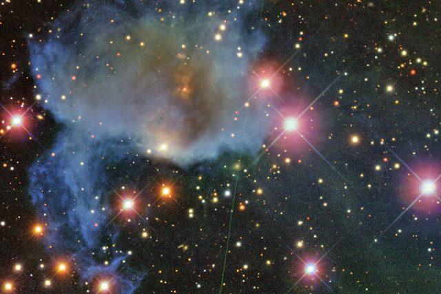 Mezihvězdné mračno v souhvězdí Orionu