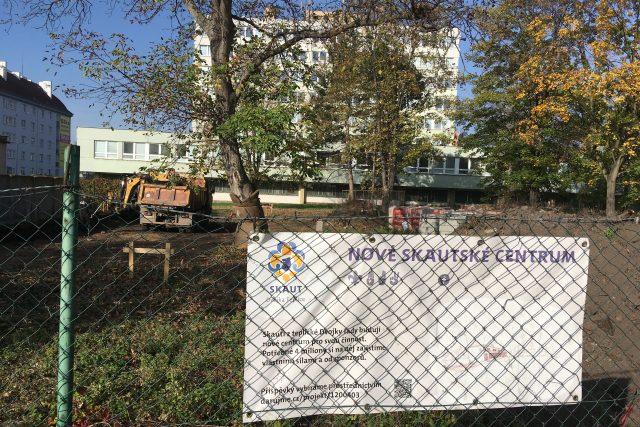 Skauti začali v Teplicích stavět novou klubovnu. Bude v Trnovanech nedaleko policejního ředitelství