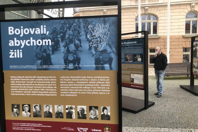 Výstava Bojovali, abychom žili představuje devět Liberečanů, kteří za druhé světové války bojovali proti nacistům