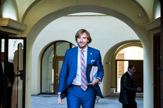 Adam Vojtěch, ministr zdravotnictví za ANO a bývalý tajemník na ministerstvu financí.