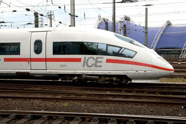německý rychlovlak ICE