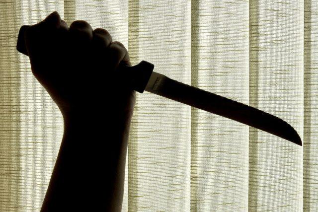 Nůž, útok nožem, vražda (ilustrační foto)
